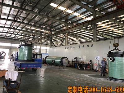 安徽泰恒泵站厂家定制发货4套污水提升一体化泵站