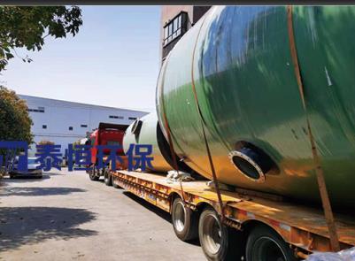 安徽鏡湖區大型一體式提升泵站